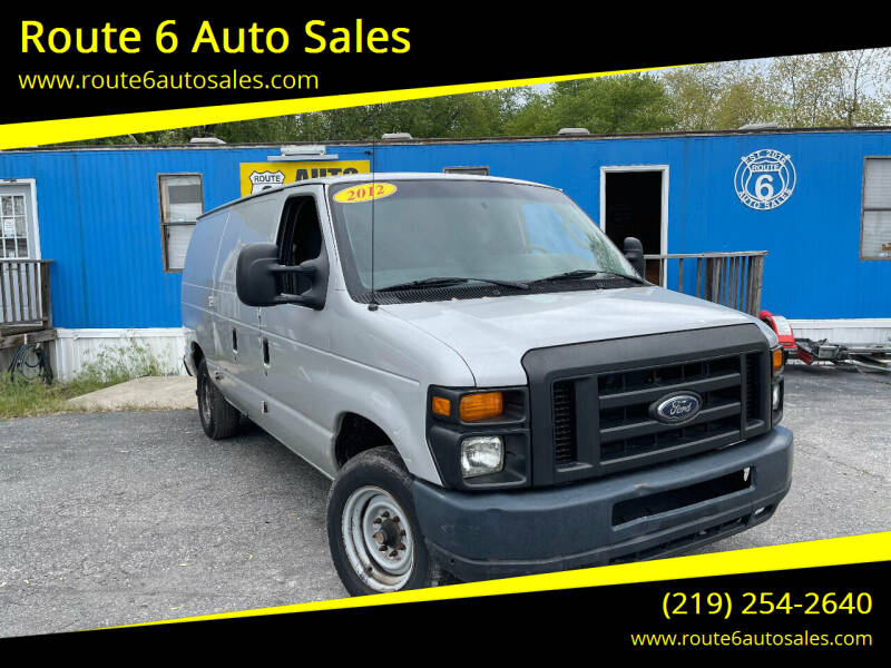 2012 Ford E-Series Cargo for sale at Route 6 Auto Sales in Portage IN