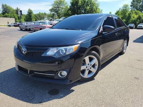 2013 Toyota Camry for sale at Cruisin' Auto Sales in Madison IN