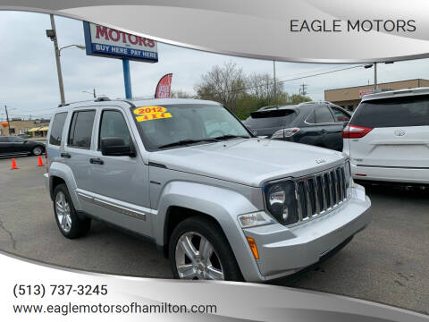 2012 Jeep Liberty for sale at Eagle Motors in Hamilton OH