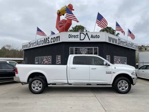 2016 RAM Ram Pickup 2500 for sale at Direct Auto in D'Iberville MS