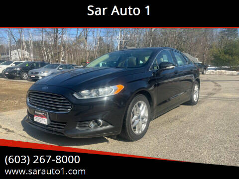 2013 Ford Fusion for sale at Sar Auto 1 in Belmont NH
