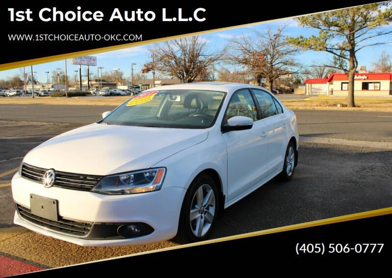 2011 Volkswagen Jetta for sale at 1st Choice Auto L.L.C in Oklahoma City OK
