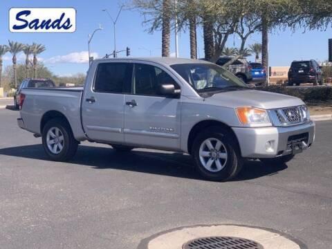 2012 Nissan Titan for sale at Sands Chevrolet in Surprise AZ