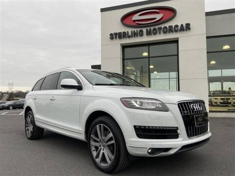 2013 Audi Q7 for sale at Sterling Motorcar in Ephrata PA