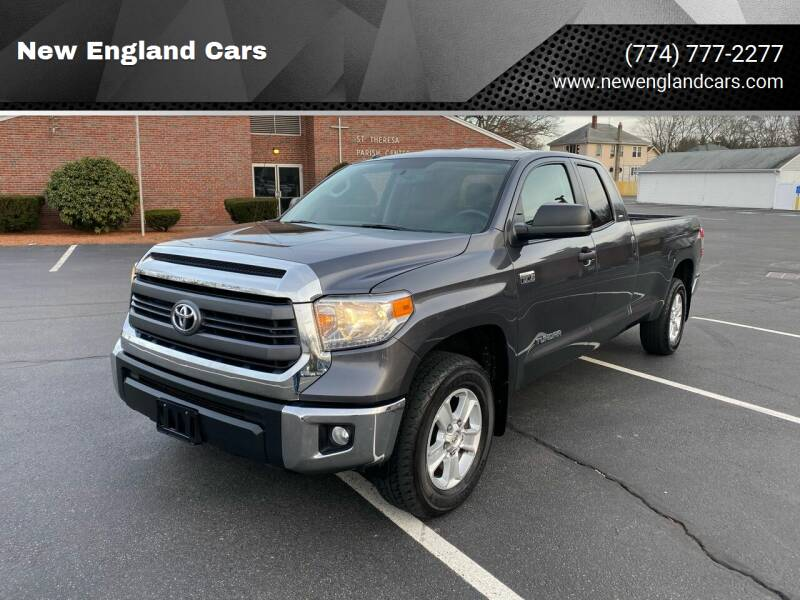 2014 Toyota Tundra for sale at New England Cars in Attleboro MA