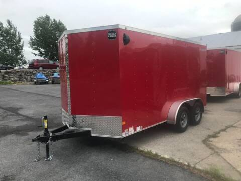 2021 Wells Cargo 7x14 Tandem Axle V-Nose