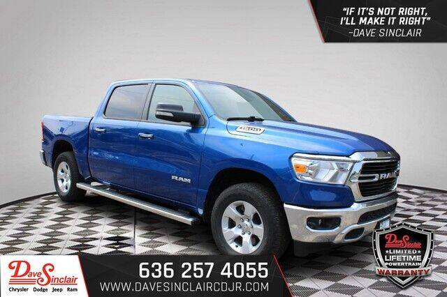2019 RAM Ram Pickup 1500 for sale at Dave Sinclair Chrysler Dodge Jeep Ram in Pacific MO