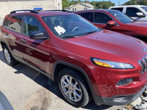 2016 Jeep Cherokee for sale at CBS Quality Cars in Durham NC