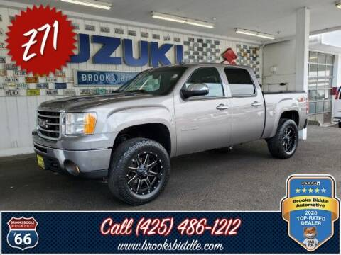 2012 GMC Sierra 1500 for sale at BROOKS BIDDLE AUTOMOTIVE in Bothell WA
