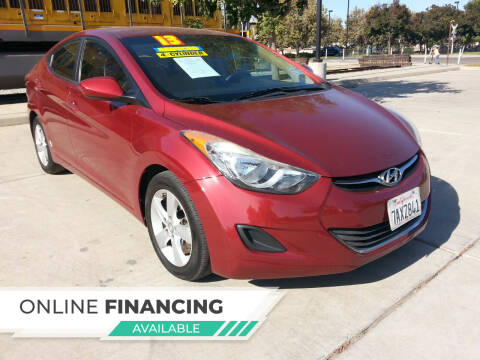 2013 Hyundai Elantra for sale at Super Cars Sales Inc #1 in Oakdale CA