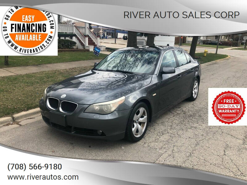 2006 BMW 5 Series for sale at RIVER AUTO SALES CORP in Maywood IL