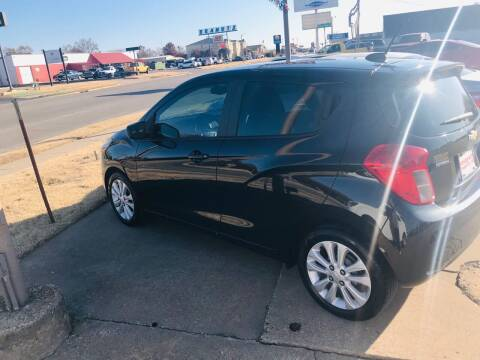 2016 Chevrolet Spark for sale at Pioneer Auto in Ponca City OK
