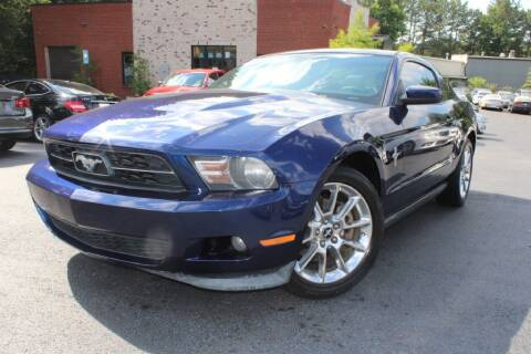 2011 Ford Mustang for sale at Atlanta Unique Auto Sales in Norcross GA