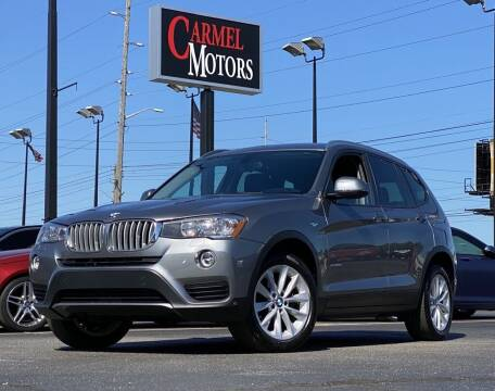 2017 BMW X3 for sale at Carmel Motors in Indianapolis IN