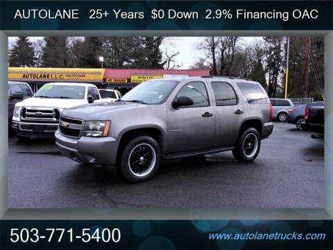 2007 Chevrolet Tahoe for sale at Auto Lane in Portland OR