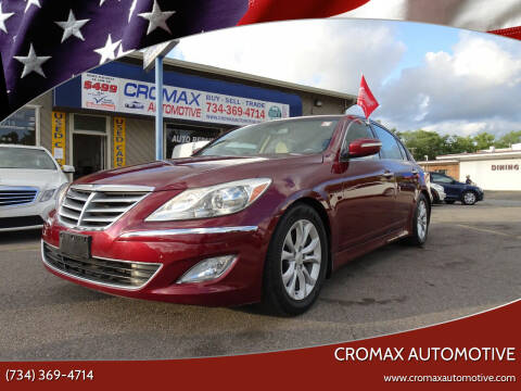 2012 Hyundai Genesis for sale at Cromax Automotive in Ann Arbor MI