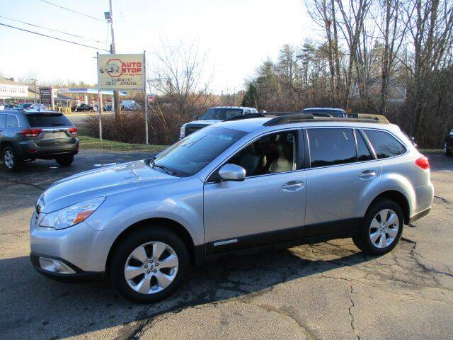 2012 Subaru Outback for sale at AUTO STOP INC. in Pelham NH