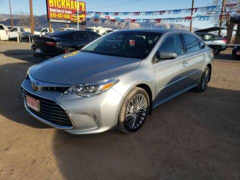 2017 Toyota Avalon for sale at Bickham Used Cars in Alamogordo NM
