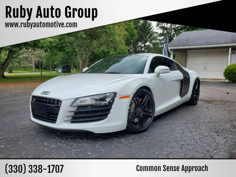 2009 Audi R8 for sale at Ruby Auto Group in Hudson OH