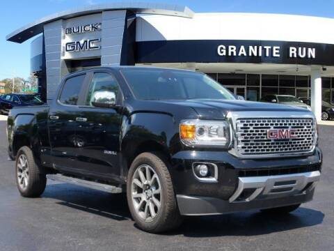 2020 GMC Canyon for sale at GRANITE RUN PRE OWNED CAR AND TRUCK OUTLET in Media PA