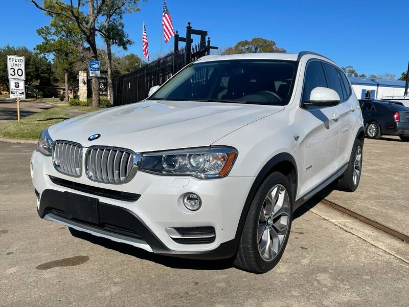 2015 BMW X3 for sale at Newsed Auto in Houston TX
