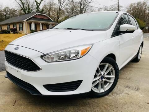 2015 Ford Focus for sale at E-Z Auto Finance in Marietta GA
