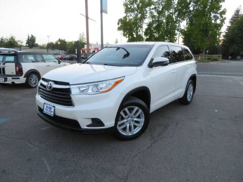 2014 Toyota Highlander for sale at KAS Auto Sales in Sacramento CA