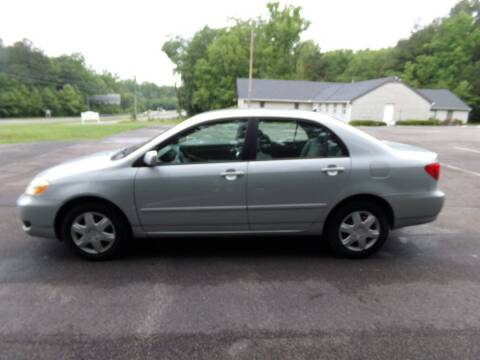 2006 Toyota Corolla for sale at West End Auto Sales LLC in Richmond VA