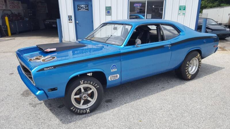1972 Plymouth Duster for sale at LMJ AUTO AND MUSCLE in York PA