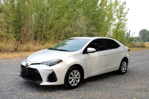 2018 Toyota Corolla for sale at Northwest Premier Auto Sales in West Richland WA
