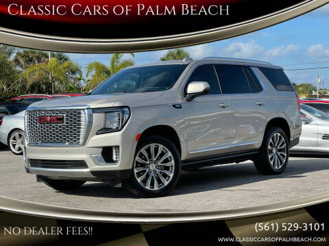 2021 GMC Yukon for sale at Classic Cars of Palm Beach in Jupiter FL