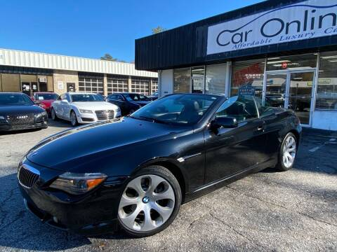 2006 BMW 6 Series for sale at Car Online in Roswell GA