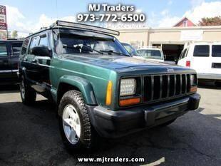 2001 Jeep Cherokee for sale at M J Traders Ltd. in Garfield NJ
