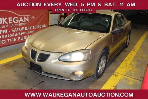 2005 Pontiac Grand Prix for sale at Waukegan Auto Auction in Waukegan IL