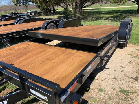 2021 FALCON 20' TILT TRAILER for sale at Trophy Trailers in New Braunfels TX