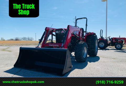 2021 Mahindra 4550 4WD for sale at The Truck Shop in Okemah OK