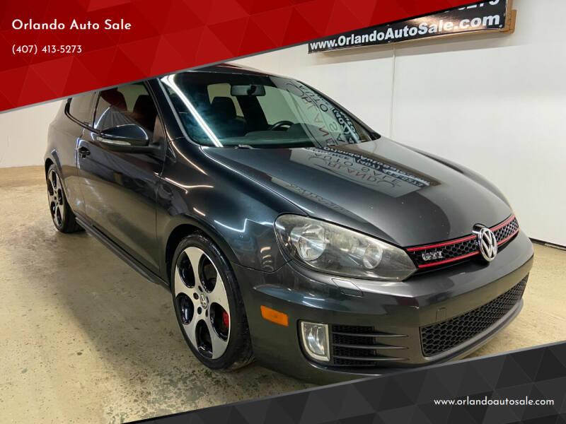 2012 Volkswagen GTI for sale at Orlando Auto Sale in Orlando FL