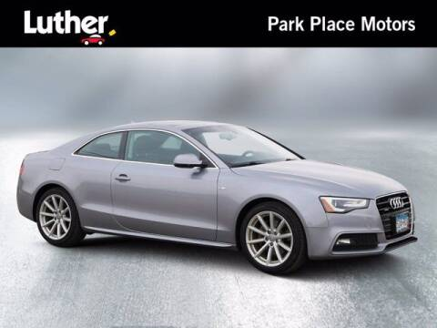 2015 Audi A5 for sale at Park Place Motor Cars in Rochester MN