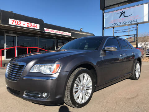 2014 Chrysler 300 for sale at NORRIS AUTO SALES in Oklahoma City OK