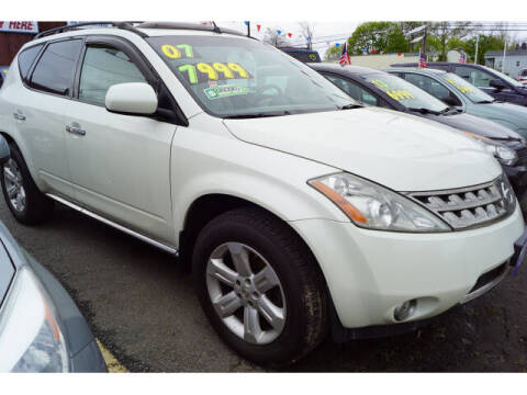 2007 Nissan Murano for sale at MICHAEL ANTHONY AUTO SALES in Plainfield NJ