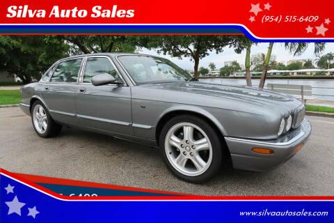2002 Jaguar XJ-Series for sale at Silva Auto Sales in Pompano Beach FL