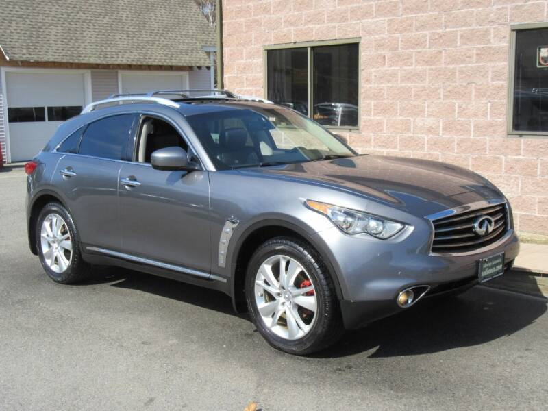 2013 Infiniti FX37 for sale at Advantage Automobile Investments, Inc in Littleton MA