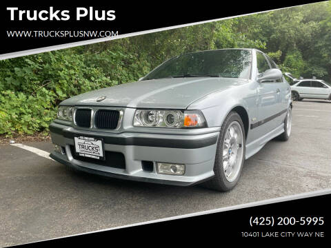 1998 BMW M3 for sale at Trucks Plus in Seattle WA
