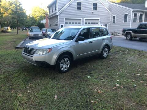 2009 Subaru Forester for sale at Billycars in Wilmington MA