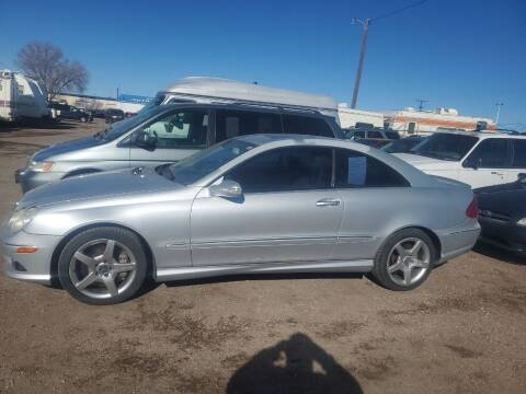 2007 Mercedes-Benz CLK for sale at PYRAMID MOTORS - Fountain Lot in Fountain CO