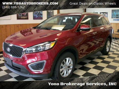 2017 Kia Sorento for sale at Yono Brokerage Services, INC in Farmington MI