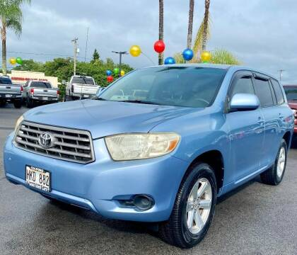 2008 Toyota Highlander for sale at PONO'S USED CARS in Hilo HI