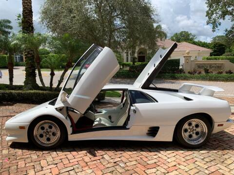 1994 Lamborghini Diablo VT AWD for sale at Suncoast Sports Cars and Exotics in West Palm Beach FL