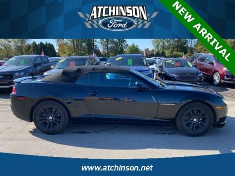 2015 Chevrolet Camaro for sale at Atchinson Ford Sales Inc in Belleville MI