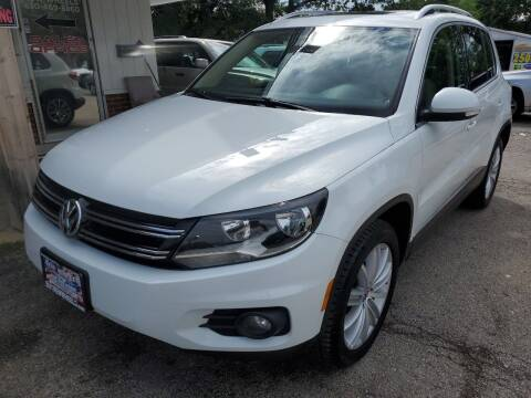 2015 Volkswagen Tiguan for sale at New Wheels in Glendale Heights IL